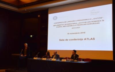 """Lansarea Programului """"Justiție"""", implementat de Ministerul Justiției din România"""