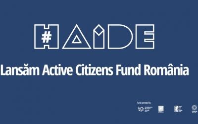 Active Citizens Fund România a lansat 8 apeluri de proiecte