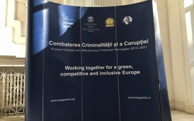 """Noua pagina de web a proiectului """"Combaterea criminalității și corupției"""""""