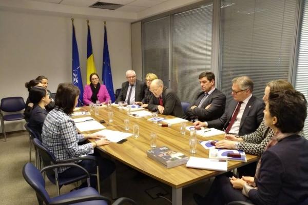 Întâlnire cu delegația Parlamentului norvegian